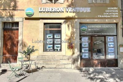 LUBERON VENTOUX IMMOBILIER-CAROMB